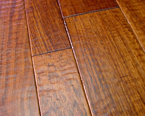 Create A Rustic Look On Your Floors With Wood